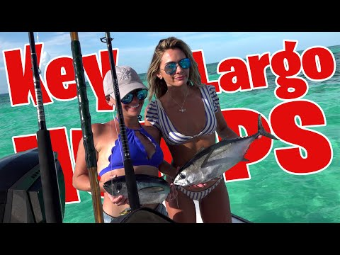 Fishing The Key Largo Humps And CATCHING FISH | Catch And Cook