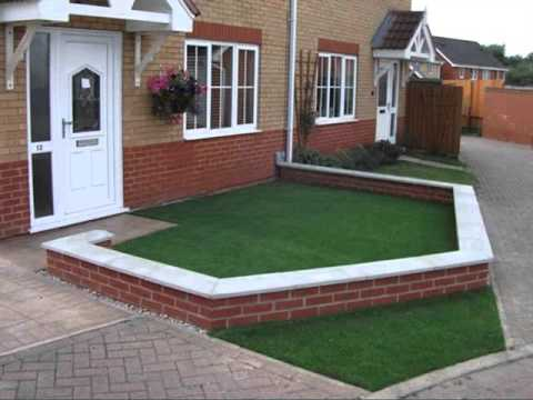 Fake Artificial Grass Design Samples Artificial Grass Front Lawn