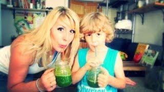 Best Tasting Green Juice (kids-approved!) Feat. Denzin
