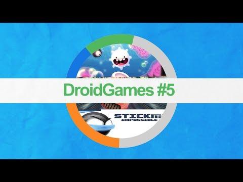 Игры на Android #5 [космические гонки стикмена по организму]