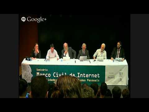 Seminário CGI/Proteste: Marco Civil da Internet (Parte 2)