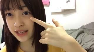 2019年6月26日6時12分 ザ・コインロッカーズ155番福田瑠佳SHOWROOM配信.