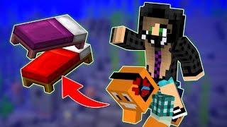 """Minecraft AQUA #9 - """"Mamy łóżka!"""" w/ Akiri"""