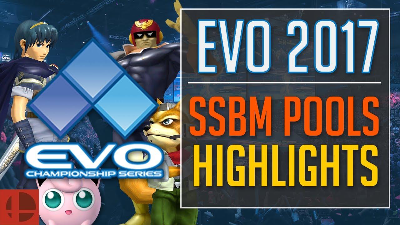 EVO 2017 Super Smash Bros  Melee Pools Highlights | SSBM Esports Highlights