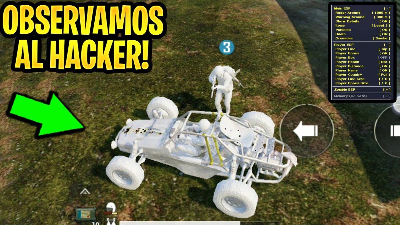OBSERVAMOS A HACKER y lo DENUNCIAMOS en PUBG MOBILE! - AIMBOT y WALLHACK