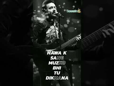 Jhula jhulaye , ye meri hai💛 kahani//Atif Aslam song ❤️ best full screen WhatsApp status🐼