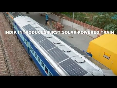 India Introduces First Solar-Powered Train | greenversal