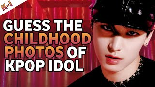 Download lagu [KPOP GAMES] GUESS THE KPOP IDOL BY THEIR CHILDHOOD PHOTOS