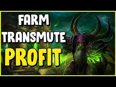 Making Gold With Alchemy In WoW BFA 8.2.5 - Gold Farming, Gold Making