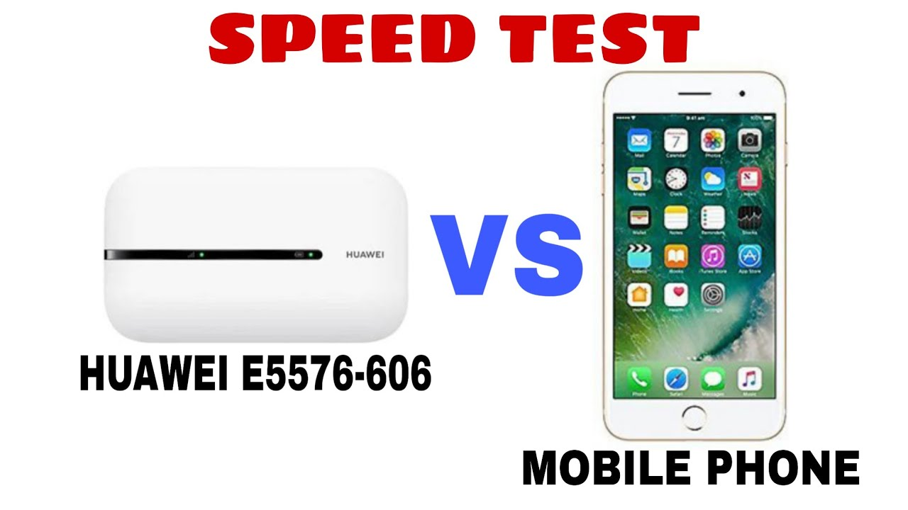 Best Hotspot For Gaming Huawei E5576 606 Vs Mobile Phone Speed Test India Latest 2020 Youtube