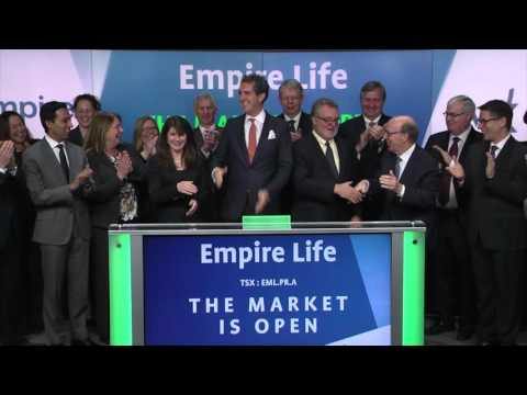 Empire Life Insurance Company (EML.PR.A) Opens Toronto Stock Exchange, March 29, 2016
