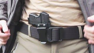 Обзор кобуры скрытого ношения из кайдекса для пистолета WASP R (Grom)