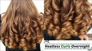 Overnight Heatless Curls | Heatless Curls | Braidsandstyles12