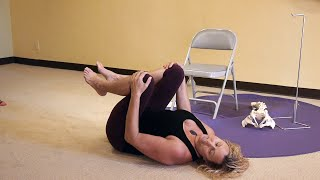 """Quick and Effective Yoga """"Band-aid"""" for Low Back Pain with Justine Shelton, E-RYT500"""