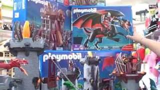 Playmobil Dragon Land at Pufferbellies