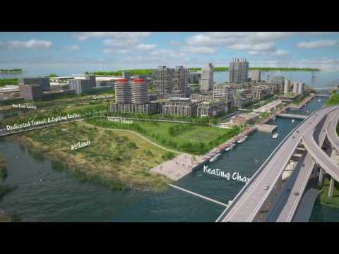 Smart city Toronto, Waterfront Toronto - The Port Lands Google Sidewalk Labs