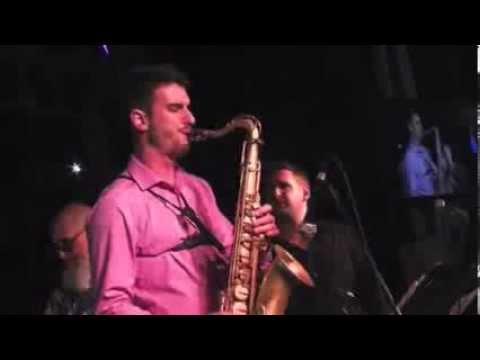 Chad Lefkowitz-Brown LIVE solo with Arturo O'Farrill
