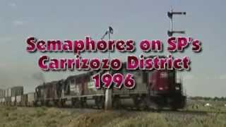 SP Carrizozo Semaphores