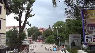 Трускавец Нижний бювет Прогулка по городу Гортензии #Трускавец#