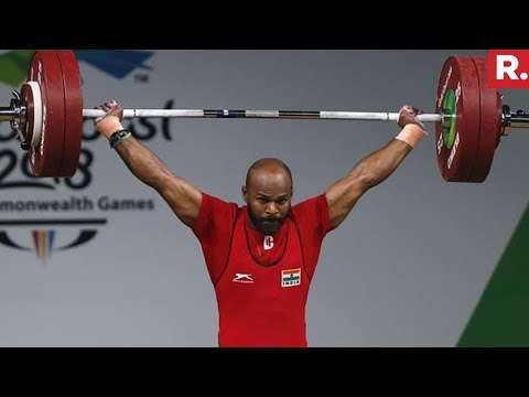 Weightlifter Sathish Kumar Sivalingam Wins Gold Medal | Commonwealth Games 2018