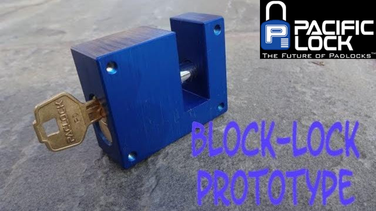 1190 prototype paclock block lock youtube. Black Bedroom Furniture Sets. Home Design Ideas