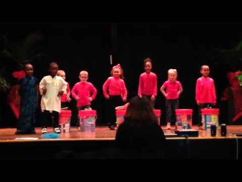 Barnwell Primary students perform African music