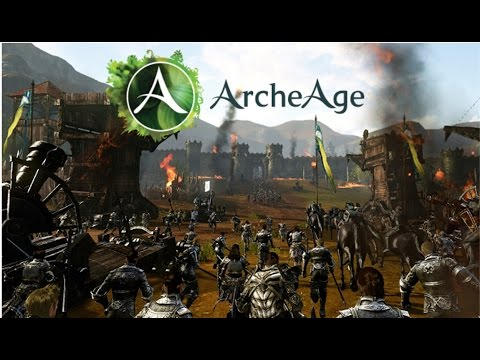 ArcheAge Castle Siege War NSFW vs RED ARMADA - Halcyona War