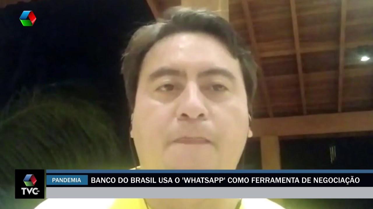 Banco do Brasil usa o Whatsapp como ferramenta de negociação