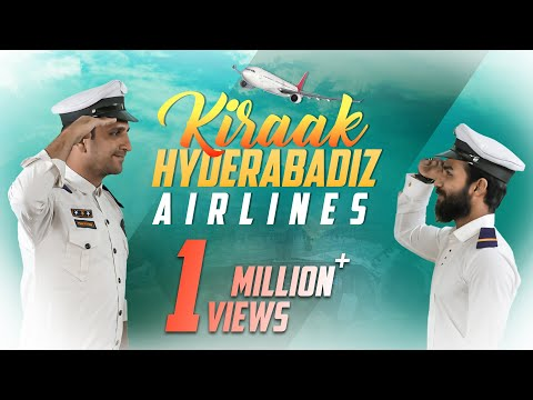 Kiraak Hyderabadi Airlines || Funny Pilots & Air Hostress || Comedy