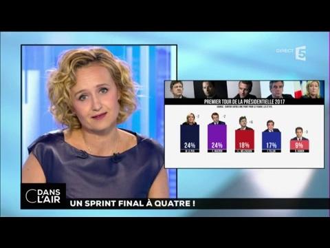 Un sprint final à quatre #cdanslair 10-04-2017