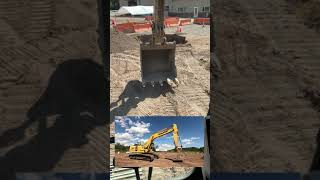 How to Position an Excavator for Travel | #Shorts
