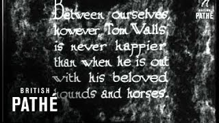The Stars Off Stage - Tom Walls - Not To Mention Ralph Lynn & Mary Brough (1929)