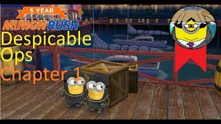 Minion Rush  Despicable Ops  Chapter 1 Full