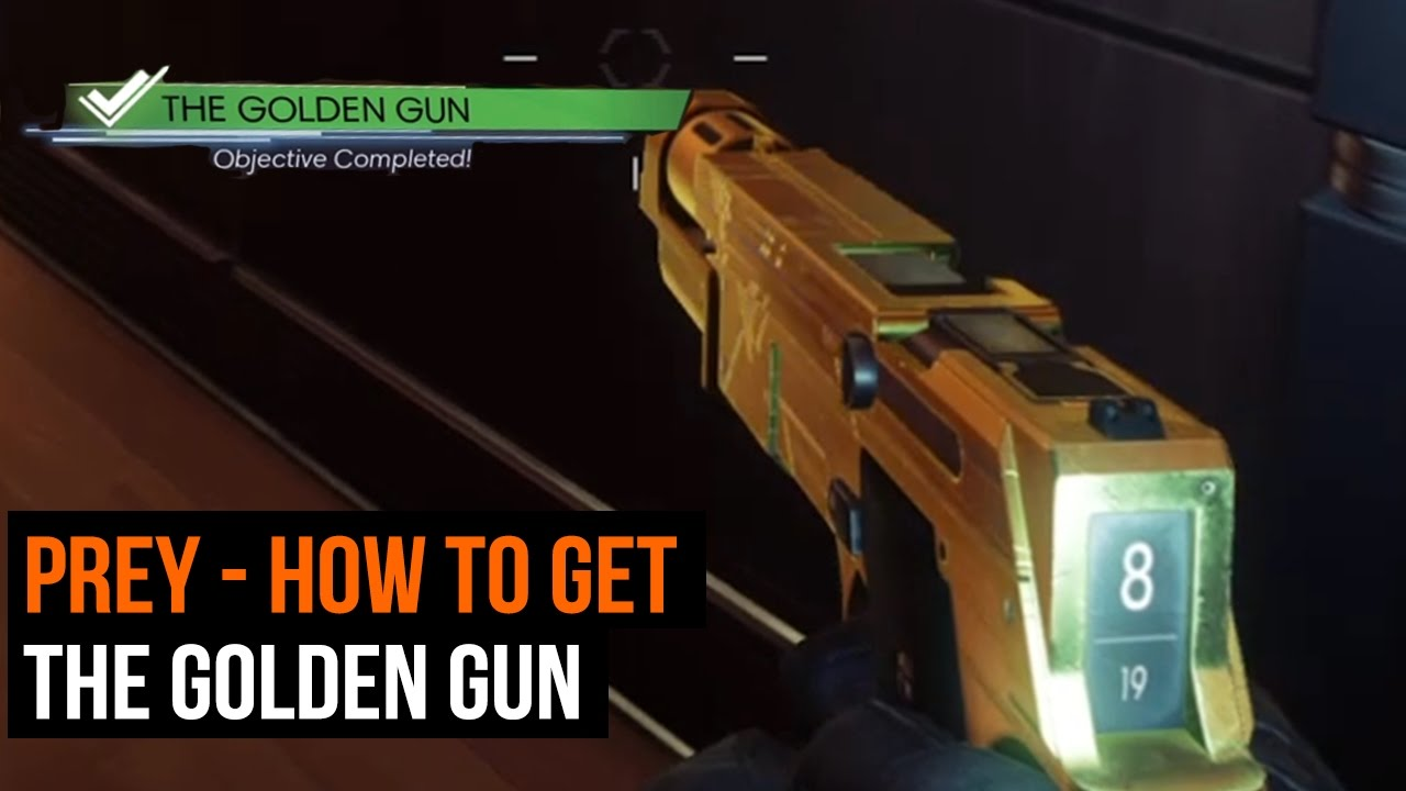 prey golden gun