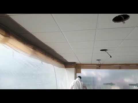 spraying-ceiling-tiles