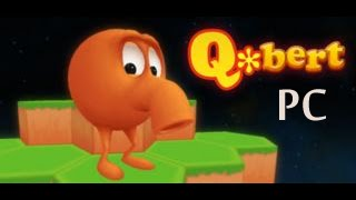 Q*bert Rebooted Gameplay (PC)