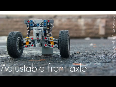 lego technic steering instructions