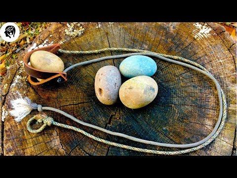 Shepherd Sling: Amazing Accuracy With Primitive Rock Ammunition!
