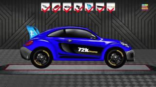 Sports Car | Cars | Cartoon Cars | Cars Race | Kids Sports Car