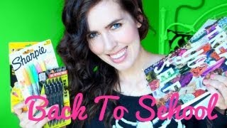 ♥ Back To School ♥ Backpack Essentials + GIVEAWAY! Thumbnail