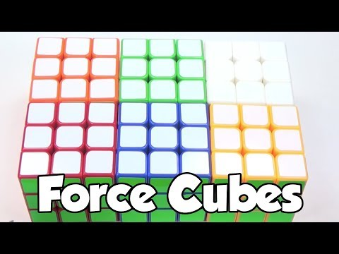 200th Video Special - Yulong Colored Cube Time Lapse