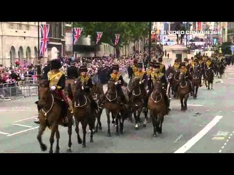 The Queen's Diamond Jubilee carriage procession