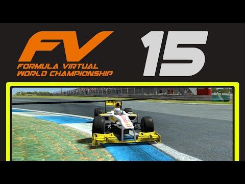 2015 Formula Virtual World Championship - Round 4 South Africa