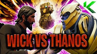 JOHN WICK VS THANOS! DIE *ECHTE* GESCHICHTE! Ep.4 (Kurzer Fortnite BR Film) - Fortnite: Battle Royale