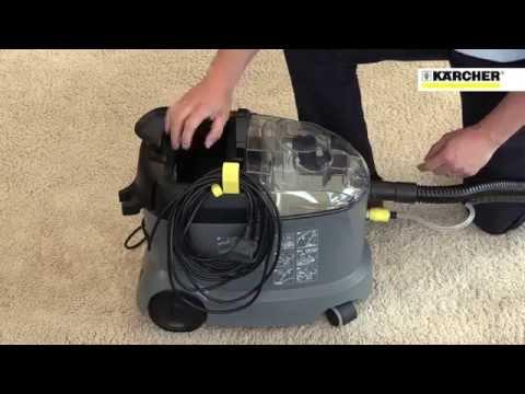 Karcher PUZZI 8/1 C Commercial Upholstery & Spot Carpet Cleaner