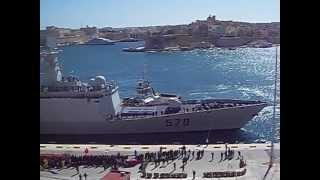 Chinese Navy ships (frigates) Huangshan and Hengshan visit Malta 26 March 2013