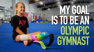 Girl Thrives as Amputee Gymnast with Stellar Prosthetic Foot