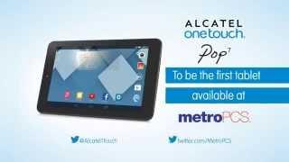 Pop 7, First Tablet At Metropcs