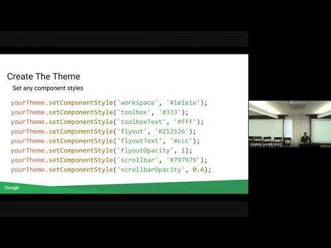 Blockly Developer Summit 2019: Themes!