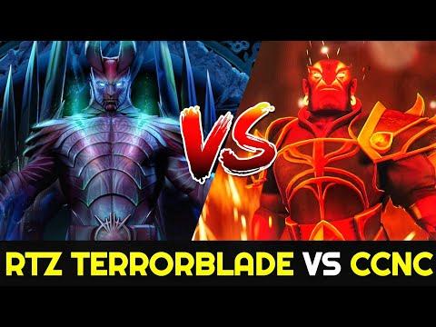 ARTEEZY Terrorblade Vs CCNC Ember Spirit - 26min End Game 7.25 Dota 2